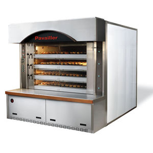 horno para la industria agroalimentaria de pisos / con niveles / para pan / de cocción