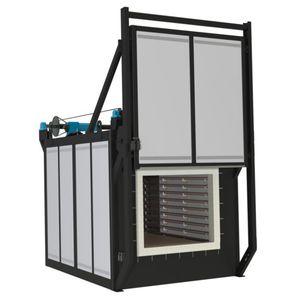 horno de templado / de cámara / eléctrico / de alta temperatura