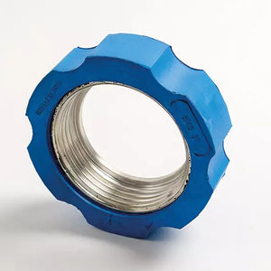 tuerca cilíndrica / de acero / de elastómero / de escayola