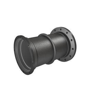tubería rígida para agua / de hierro fundido / para aguas residuales / mural