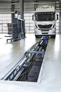 banco de frenado, suspensión y alineado para camiones