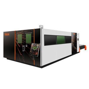 máquina de corte para aluminio / para acero inoxidable / láser de fibra / CNC