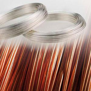 hilo eléctrico de cobre / de aleación de cobre / redondo / monocatenario