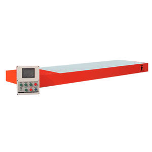 detector de metales plano