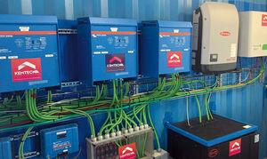 unidad de producción eléctrica híbrida solar