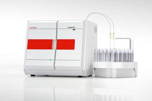 analizador de nitrógeno / de carbono / de agua / TOC