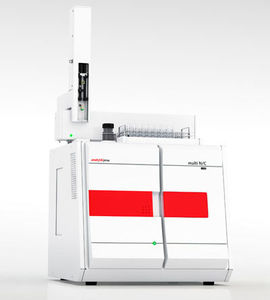 analizador de nitrógeno / de carbono / TOC / de temperatura
