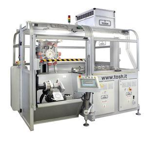 máquina de impresión multicolor / para material plástico / para objetos cilíndricos / automática
