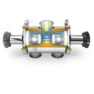 válvula de membrana radial