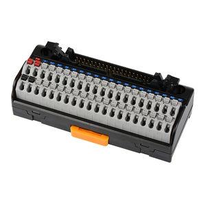 bloque de conexión push-in / sin tornillos / con conexión rápida / en riel-DIN