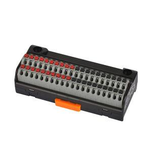 bloque de conexión con conexión rápida / push-in / sin tornillos / en riel-DIN