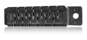 regleta de contacto hembra / de una sola hilera / insertable / 1.27 mm (0.050