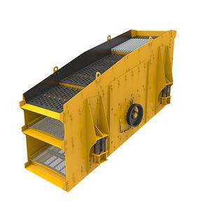 criba vibratoria circular / para productos a granel / para obra de construcción / para minas