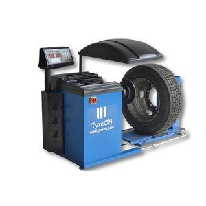 equilibradora de ruedas para camiones