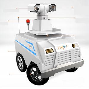 robot de vigilancia autónomo