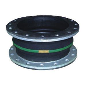 compensador de dilatación de caucho / redondo / de brida / para la industria química