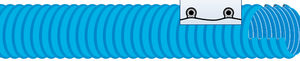 conducto de aire flexible / de PVC / de extracción de humos / espiralado