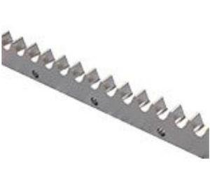 cremallera de dientes rectos / de precisión / de acero / de acero inoxidable