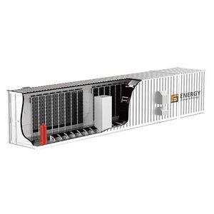 sistema de almacenamiento de energía en contenedor