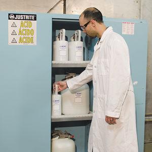 armario para productos corrosivos