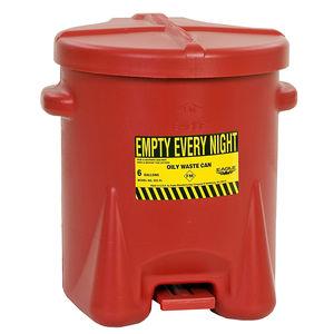contenedor de basura de polietileno