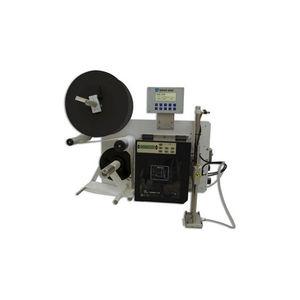 máquina de impresión-colocación de etiquetas monocroma