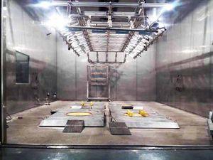 cámara de pruebas de durabilidad estructural