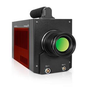 cámara de imagen térmica / de infrarrojos / conjunto de plano focal / GigE