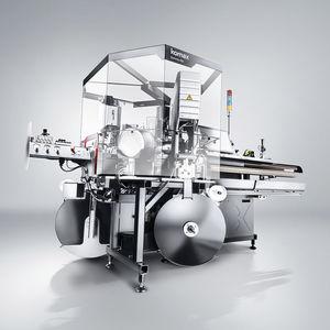 prensa desforradora y aplicadora de sellos de cables / automática