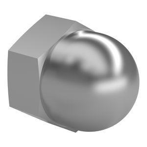 tuerca hexagonal / de sombrerete / de acero