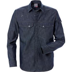 camisa de trabajo / antiestática / de protección mecánica / de algodón