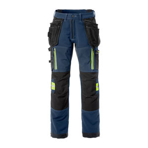 pantalón de trabajo / antiabrasiones / de malla / de poliéster