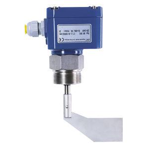 interruptor de nivel de paleta rotativa / electromecánico / para productos a granel / compacto