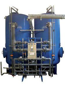filtro de cesta doble / granular / a presión