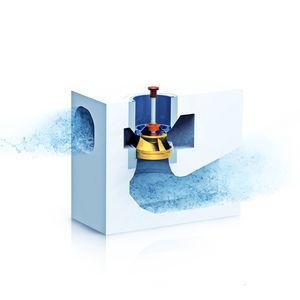 bomba vertical / de agua / centrífuga de voluta / industrial