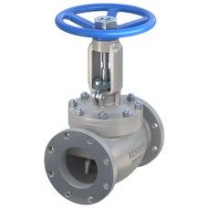 válvula de globo / manual / de cierre / de regulación de caudal