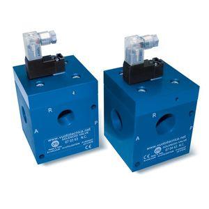 electroválvula de control directo / de 3 vías / NC / NA