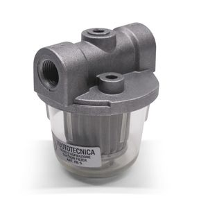 filtro para bomba de vacío / de aire / de cartucho / transparente