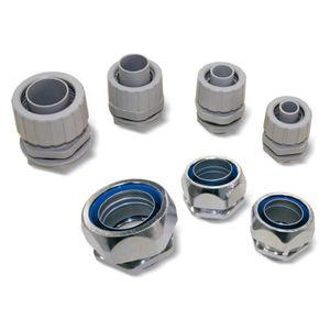 racor de compresión / recto / neumático / de polipropileno