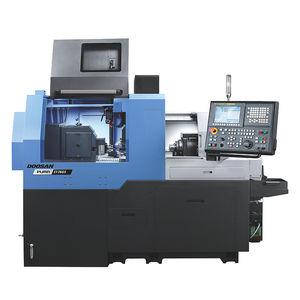 torno tipo suizo CNC / 4 ejes / de alta precisión / de alta productividad