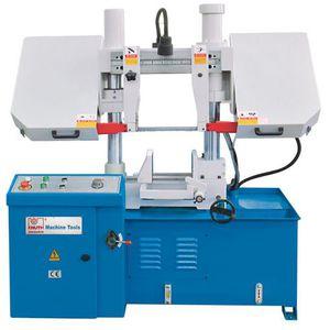 máquina de aserrar semiautomática / de cinta / para metales / hidráulica