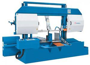 sierra de cinta / para metales / semiautomática / vertical