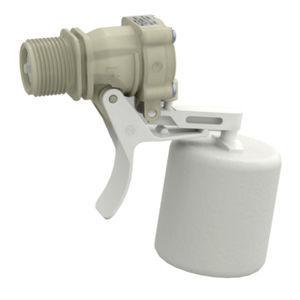 válvula servoaccionada / de flotador / de control de nivel / para agua
