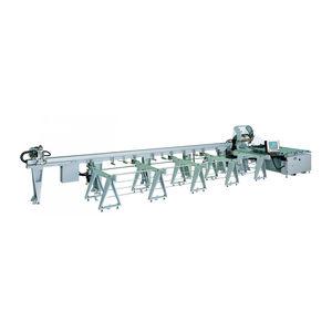 línea de corte para aluminio / para PVC / de hoja rotativa / CNC