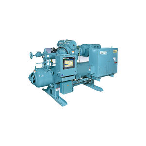 compresor frigorífico de tornillo / rotativo / amoníaco (R717) / monoetapa