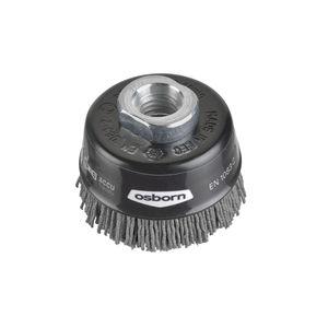 cepillo de copa / de limpieza / abrasivo / de nailon