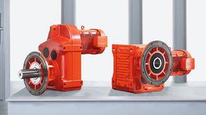 motorreductor de engranaje helicoidal / de ejes paralelos / de montaje en brida / para agitador