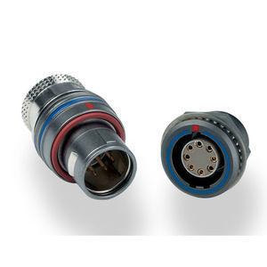 conector compacto / de datos / de fibras ópticas / de engaste