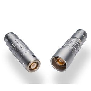 conector estanco / RF / triaxial / de extensión-retracción