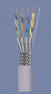 cable eléctrico CAT 5 / de alimentación / de par trenzado / CAT 7